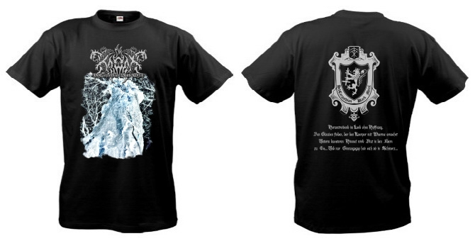 Kroda - HelCarpathian Black Metal T-Shirt by Musical Hall Distribution