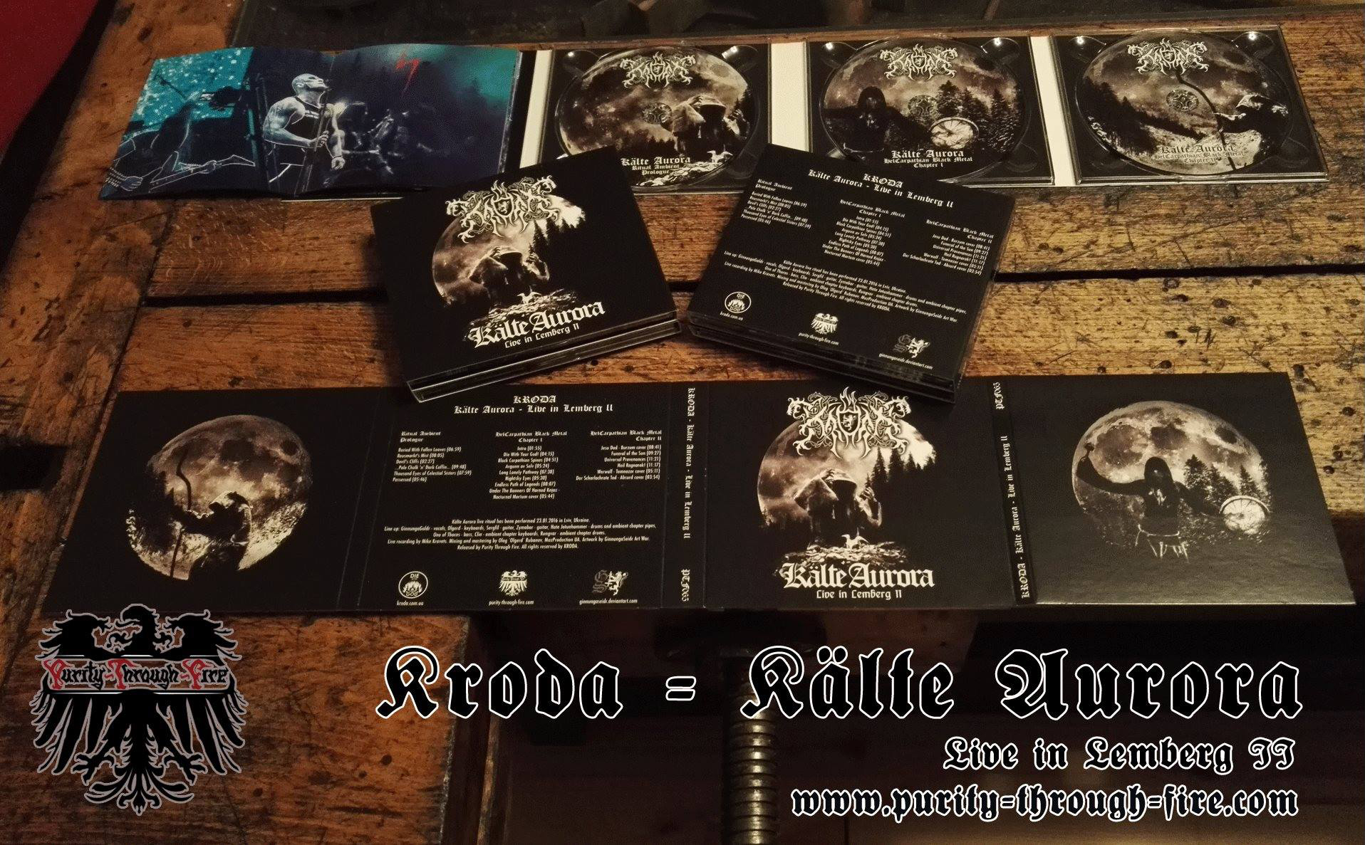 Released audio-version of KRODA Kalte Aurora - Live in Lemberg II