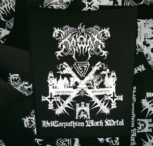BACKPATCH KRODA - HelCarpathian Black Metal