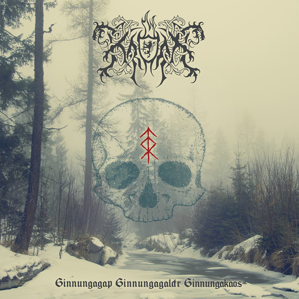 Kroda - GinnungaGap​-​GinnungaGaldr​-​GinnungaKaos LP released by PURITY THROUGH FIRE