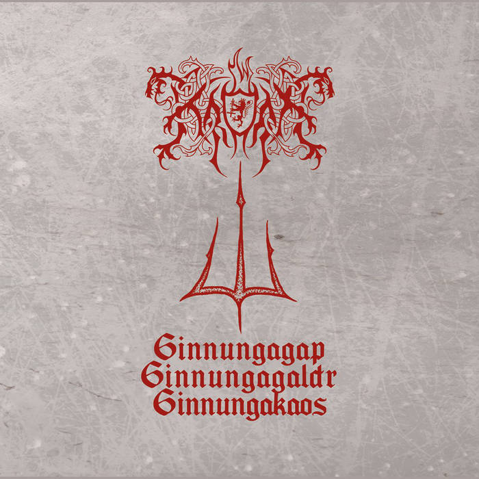 Kroda - GinnungaGap​-​GinnungaGaldr​-​GinnungaKaos released by PURITY THROUGH FIRE